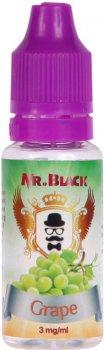 Жидкость для электронных сигарет Mr.Black Grape 15 мл (Отборный виноград)