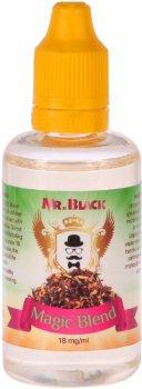 Жидкость для электронных сигарет Mr.Black Magic Blend 18 мг 50 мл (Сигара с легким ароматом специй и дерева) (MR8735)