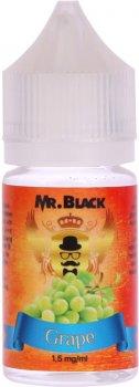 Рідина для електронних сигарет Mr.Black Grape 1.5 мг 30 мл (Добірний виноград) (MR6898)