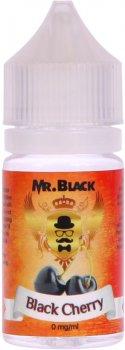 Рідина для електронних сигарет Mr.Black Black Cherry 30 мл (Ароматна вишня)