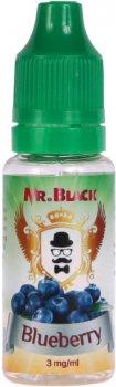 Рідина для електронних сигарет Mr.Black Blueberry 3 мг 15 мл (Ароматна чорниця) (MR7789)