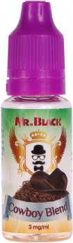 Жидкость для электронных сигарет Mr.Black Cowboy Blend 3 мг 15 мл (Табак с нотками меда) (MR6919)