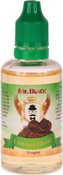 Жидкость для электронных сигарет Mr.Black Cowboy Blend 12 мг 50 мл (Табак с нотками меда) (MR6976)