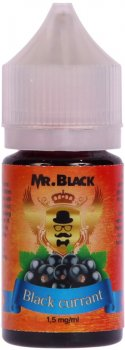 Рідина для електронних сигарет Mr.Black Black Currant 1.5 мг 30 мл (Смачна смородина) (MR6892)