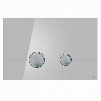 Кнопка слива STERO серое стекло Cersanit (000019663)