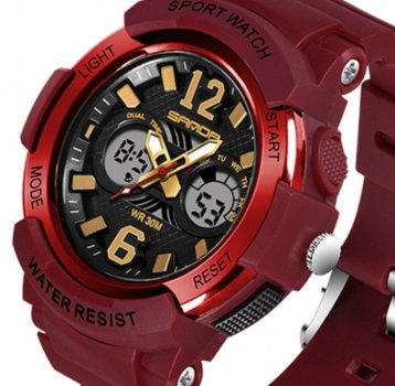 Чоловічі годинники Sanda Iceberg Red