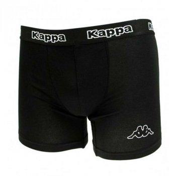 Трусы Kappa Boxers 2-pack 304JB30 990 Черные и Черно-желтые