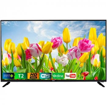 Телевізор Bravis LED-43G5000 + T2 black (F00170928)