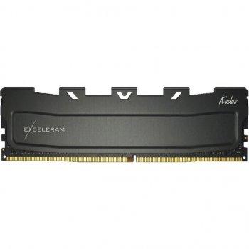 Модуль пам'яті для комп'ютера DDR4 64GB (2x32GB) 3000 MHz Black Kudos eXceleram (EKBLACK4643016CD)