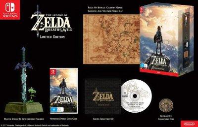 The Legend of Zelda: Breath of the Wild Ограниченное издание (Switch)
