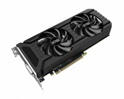 Видеокарта GeForce GTX1060 OC Palit Dual 6Gb DDR5 192bit DVI/HDMI/3xDP 1708/8000 MHz NE51060015J91061D