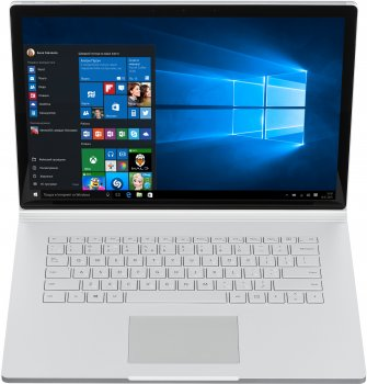 "Ноутбук Microsoft Surface Book 2 15"" (HNS-00022) Silver"