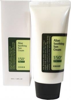 Крем солнцезащитный Cosrx Aloe Soothing Sun Cream SPF50 PA+++ с экстрактом алоэ 50 мл (8809416470191)