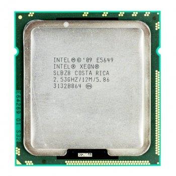 Процессор Intel E5649 2.53GHz 6C 12M 80W (SLBZ8) Refurbished