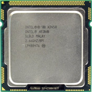 Процесор Intel X3450 2.66 GHz 4C 8M 95W (SLBLD) Refurbished