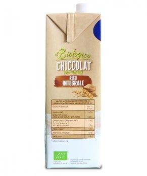 Органическое растительное молоко Riso Scotti Коричневый рис без сахара 1 л (10005)