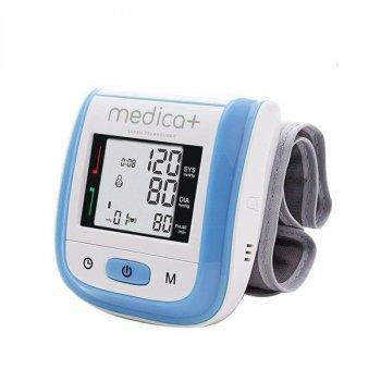 Тонометр автоматичний на зап'ясті MEDICA+ Press 402 BL з манжетою (Японія)