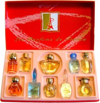 Набор миниатюр парфюмерной воды Charrier Parfums Top Ten (3442070007102)
