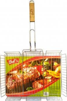 Решетка-гриль Chef's 40х68х2.4 см (CBT180005)