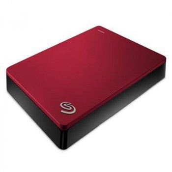 """Накопичувач зовнішній HDD 2.5"""" USB 5.0 TB Seagate Backup Plus Red (STDR5000203)"""