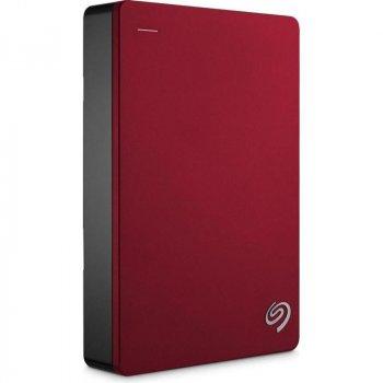 """Накопичувач зовнішній HDD 2.5"""" USB 4.0 TB Seagate Backup Plus Portable Red (STDR4000902)"""