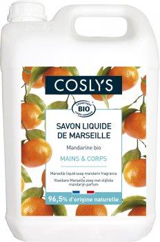 Мыло для рук Coslys Marseille жидкое с ароматом мандарина 5 л (3538394651074)