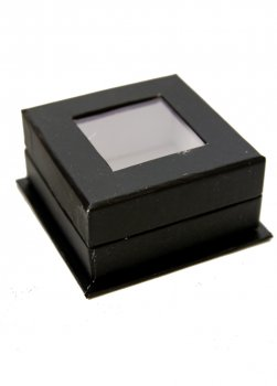 Декоративні коробочки (скриньки) 4шт SXdeco 5,5х5,5х2,7см Чорний, Білий dec0000767