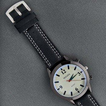 Классические Мужские Часы Qulijia OL2-32 c Черным ремешком
