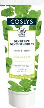 Зубная паста Coslys гелевая для чувствительных зубов с ароматом мяты 75 мл (3538394000179)