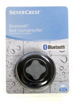 Водонепроникна Bluetooth колонка Silver Crest чорний-сірий L-8-290291_01