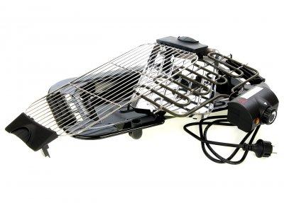 Гриль электрический QUIGG черный L11-250038