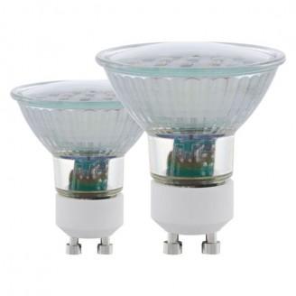 Лампа світлодіодна Eglo 11537 5W MR16 3000K 220V GU10 (набір 2шт)