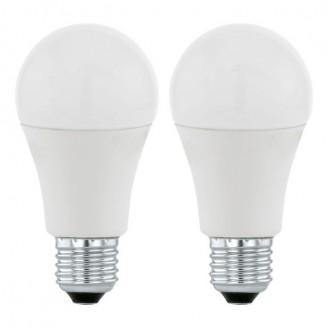 Лампа світлодіодна Eglo 11543 A60 5.5 W 3000K 220V E27 (набір 2шт)