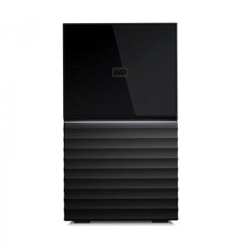 "HDD ext 3.5"" USB 4.0 TB WD My Book Duo Black (WDBFBE0040JBK-EESN)"