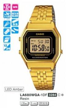 Годинник CASIO LA680WEGA-1ER