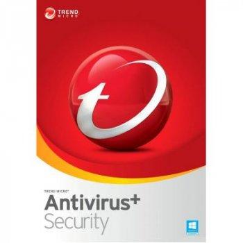 Антивірус Trend Micro AntiVirus+ 2019 3ПК, 24 month(s), Multi Lang, Lic, New (TI10974367)