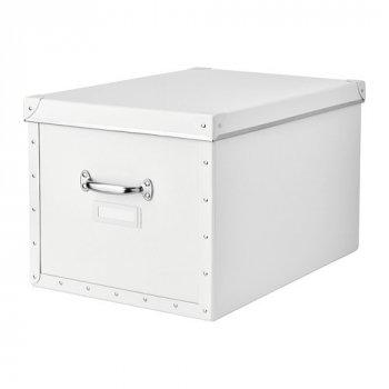 Контейнер для зберігання IKEA FJÄLLA 35x56x30 см білий 803.956.77