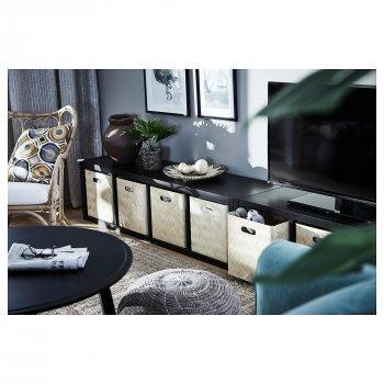 Ящик для зберігання IKEA BULLIG 32x35x33 см бамбук 302.648.86