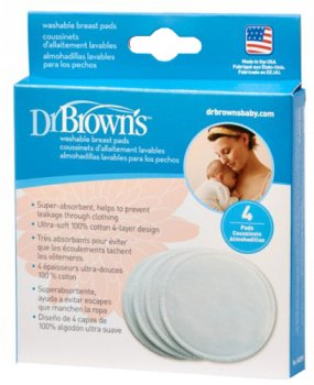 Вкладки в бюстгальтер Dr. Brown's 4 шт. в упаковці (S4001H) (851606002048)