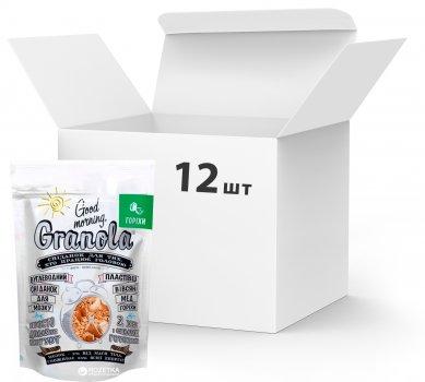 Упаковка сухих завтраков Good morning Granola С орехами 330 г х 12 шт (24820192180010)
