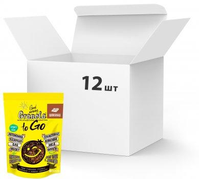 Упаковка сухих завтраков Good morning Granola to Go c шоколадом 140 г х 12 шт (24820192180089)