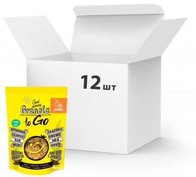 Упаковка сухих завтраков Good morning Granola to Go c курагой 140 г х 12 шт (24820192180096)