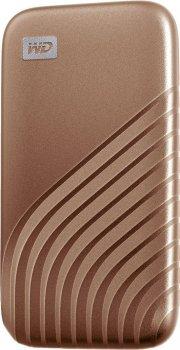 Портативний SSD USB 3.0 WD Passport 1TB R1050/W1000MB/s Gold
