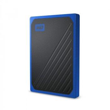 Портативний SSD USB 3.0 WD Passport Go 2TB Blue