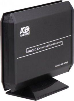 "Внешний карман Agestar для HDD/SSD 3.5"" USB 3.0 (3UB3A5 Black)"