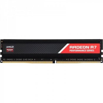 Модуль пам'яті AMD 16GB (2x8GB) DDR4 3200MHz Radeon R9 (R9S416G3206U2K) (F00234372)