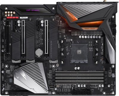 Материнська плата Gigabyte X570 Aorus Ultra (sAM4, AMD X570, PCI-Ex16)