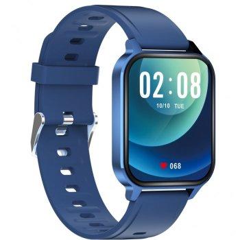Смарт-годинник Smart BlueRay Ultra з пульсометром і вимірюванням рівня кисню + крокомір і моніторинг сну Синій