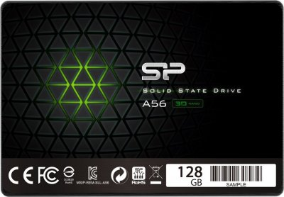 "Накопичувач SSD 2.5"" SATA Silicon Power 128GB A56 (SP128GBSS3A56B25)"