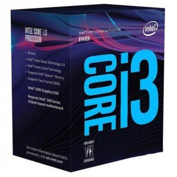 Процессор Intel s1151 Core i3-8350K (4.0GHz, 6MB,LGA1151) (BX80684I38350K) box